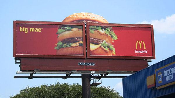 Big-Mac-McDonald-Outdoor-Advertising-billboard