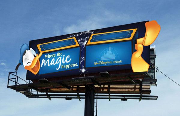 Walt-Disney-World-Orlando-Creative-Billboard-Design