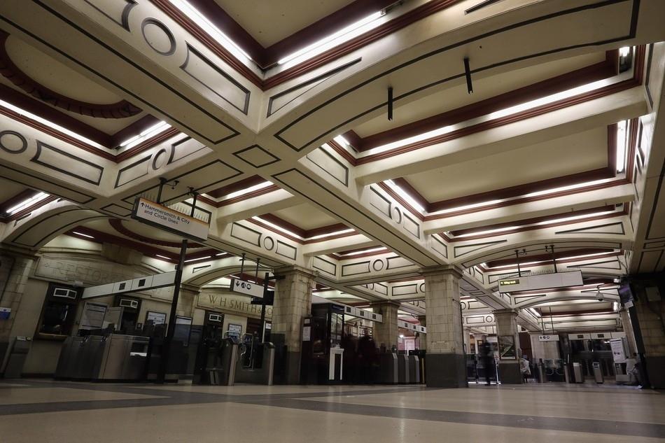 Baker Street Station in London, England