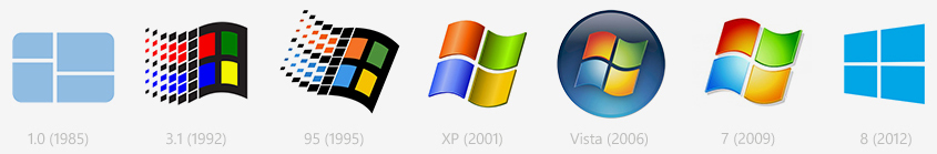ms-windows-logos